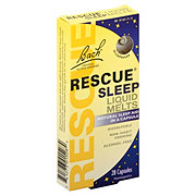 Bach Original Flower Remedies Rescue Sleep Liquid Melts