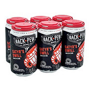 Back Pew Satyrs Swill Bock Beer 12 oz  Cans