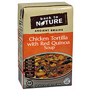 Back To Nature Ancient Grains Reduced Sodium Chicken Tortilla W Red Quinoa