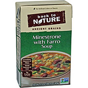 Back To Nature Ancient Grains Reduced Sodium Minestrone With Farro Soup