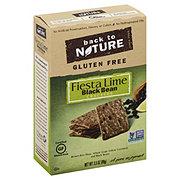 Back to Nature Gluten Free Fiesta Lime Black Bean Cracker