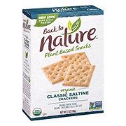 Back to Nature Organic Classic Saltine Crackers