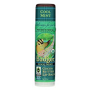 Badger Cool Mint - Cocoa Butter Lip Balm