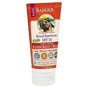 Badger Kids Active Tangerine & Vanilla Broad Spectrum Sunscreen Cream SPF 30