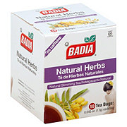 Badia Natural Slimming Tea Bags