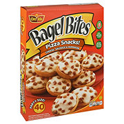 Bagel Bites Cheese Sausage & Pepperoni Mini Bagels