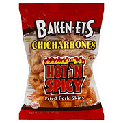 Baken-Ets Chicharrones Hot N Spicy Flavored Fried Pork Skins