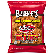 Baken-Ets Chicharrones Hot 'N Spicy Fried Pork Skins