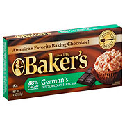 Baker's German 48% Cacao Sweet Chocolate Baking Bar