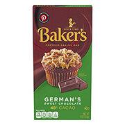 Baker's German 48% Cacao Sweet Chocolate Baking Bar