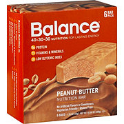 Balance Bar Peanut Butter Nutrition Bar