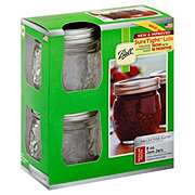 Ball Elite 8 OZ Regular Mouth Jam Jars