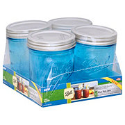 Ball Elite Blue Wide Pint Jar