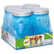 Ball Elite Blue Wide Quart Jar