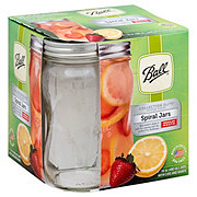 Ball Elite Regular Mouth 16 oz Spiral Mason Jar