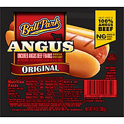 Ball Park Angus Beef Hot Dogs, Original Length