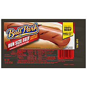 Ball Park Beef Hot Dogs, Bunsize Length