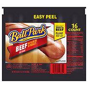 Ball Park Beef Hot Dogs, Original Length