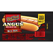 Ball Park Bun Size Angus Beef Franks