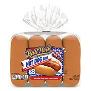 Ball Park Pre-Sliced Hot Dog Buns