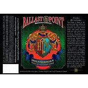 Ballast Point Indra Kunindra Curry Export Stout Bottle