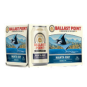 Ballast Point Manta Ray Double India Pale Ale  Beer 12 oz  Cans