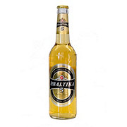 Baltika No. 5 Golden Lager Beer Bottle