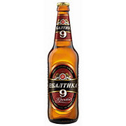 Baltika No. 9 Extra Lager Beer Bottle