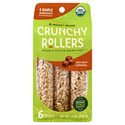 Bamboo Lane Organic Caramel Sea Salt Crunchy Rice Rollers