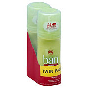 Ban Roll On Regular Deodorant Twin Pack