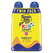 Banana Boat Kids Sport SPF 50+ Sunscreen Spray Twin Pack