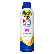Banana Boat Simply Protect Sunscreen Lotion Spray for Kids SPF 50+