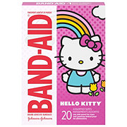 Band-Aid Brand Adhesive Bandages Featuring Hello Kitty For Kids Assorted Sizes