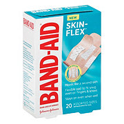 Band-Aid Brand Adhesive Bandages Skin-Flex Assorted Sizes
