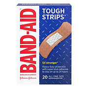 Band-Aid Brand Adhesive Bandages Tough-Strips All One Size