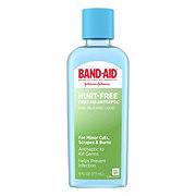 Band-Aid Brand First Aid Hurt-Free Antiseptic Wash