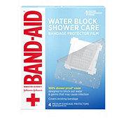 Band-Aid Brand First Aid Medium Shower Care Bandage Protector
