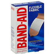 Band-Aid Brand Flexible Fabric Adhesive Bandages Extra Large