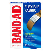 Band-Aid Brand Flexible Fabric Comfortable Adhesive Bandages