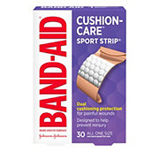 Band-Aid Brand Sport Strip Extra Wide Adhesive Bandages