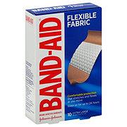 Band-Aid Extra Large Flexible Fabric Adhesive Bandages