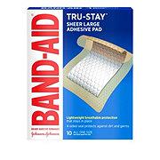 Band-Aid Large Adhesive Pads