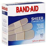 Band-Aid Sheer Comfort-Flex Assorted Adhesive Bandages