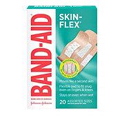 Band-Aid SKIN-FLEX Adhesive Bandages Assorted Sizes