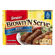 Banquet Brown 'N Serve Fully Cooked Beef Sausage Links