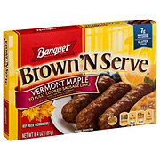 Banquet Brown 'N Serve Fully Cooked Maple Sausage Links