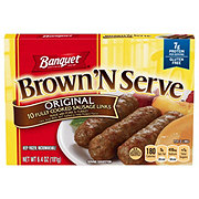 Banquet Brown 'N Serve Fully Cooked Original Sausage Links