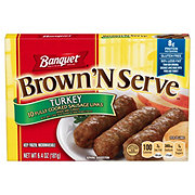 Banquet Brown 'N Serve Fully Cooked Turkey Sausage Links