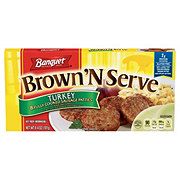 Banquet Brown 'N Serve Turkey Sausage Patties