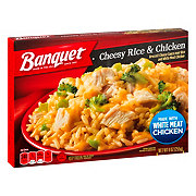 Banquet Cheesy Rice And Chicken